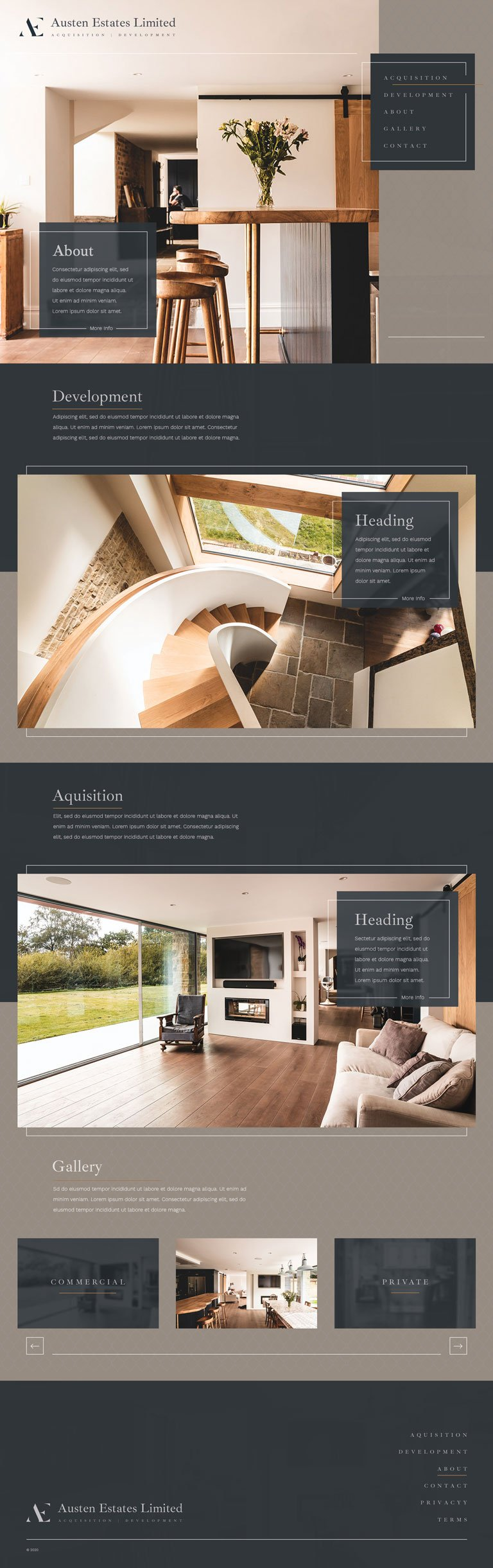 Web Design Example Sheffield Homepage