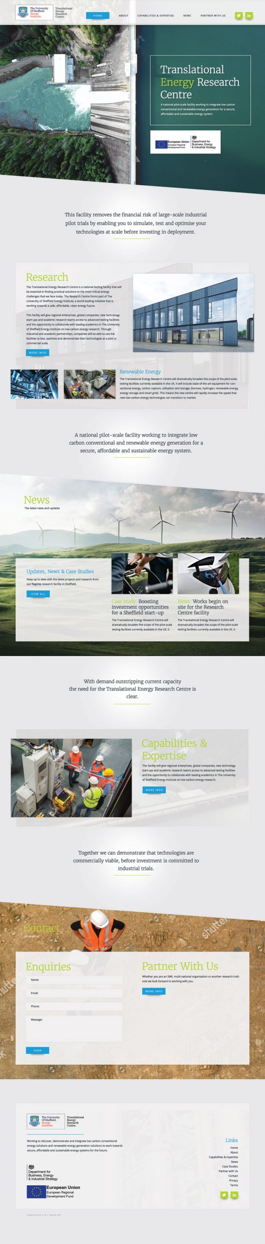 Large Business Design Example